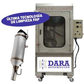 Limpieza de filtro de partículas Sevilla Dara Automoción