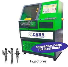 Reparación y limpieza de inyectores Sevilla Dara Automoción